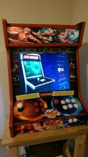 Bartop Retro Games Arcade, Mame,Nintendo, Sega,