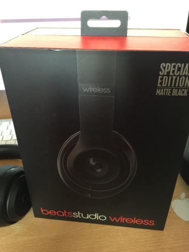 BEATS WIRELESS BEATS STUDIO HEADPHONES 2.0 MATTE BLACK