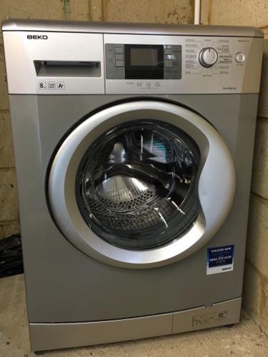 BEKO Free-standing washing machine - grey/silver