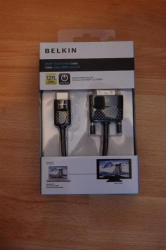 Belkin (AV10090EB12-APL) 3.6 m HDMI Cable