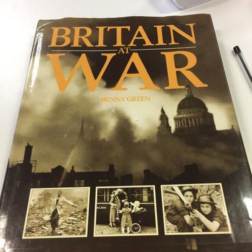 Big book on Britain at war by Bennie green
