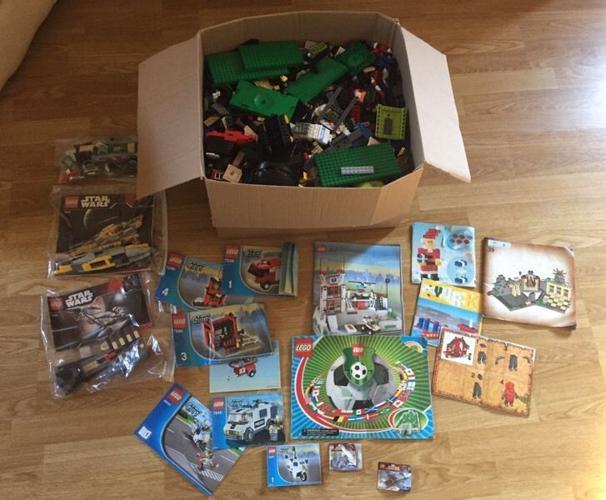 Big box of original Lego, 11kg
