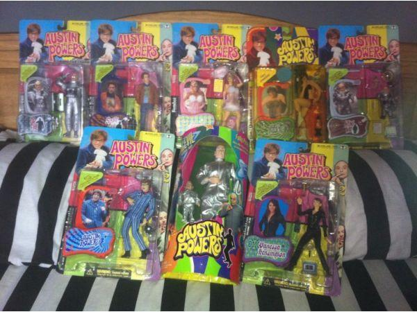 Big bunch of collectible action figures