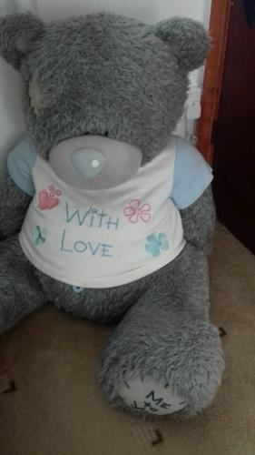 Big me to you teddy bear