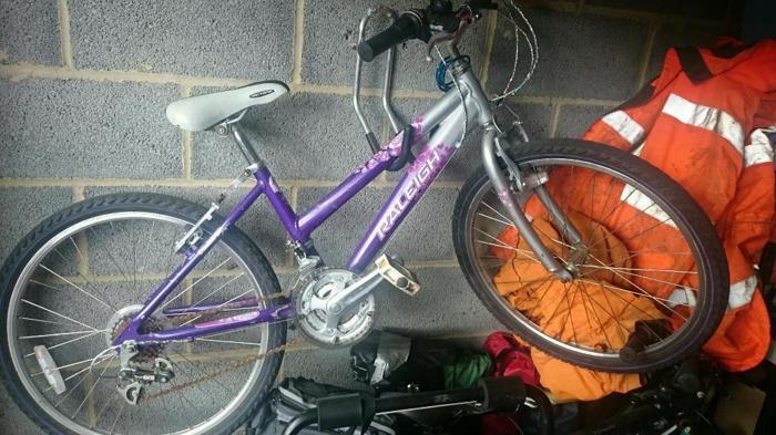 Bike girls Raleigh