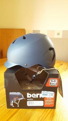 Bike/Skate Helmet - Bern - Watts Summer Matte - Navy