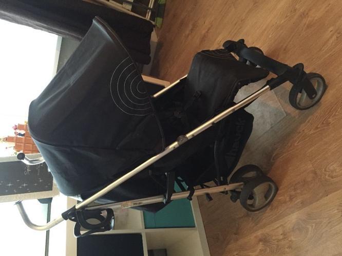 Black hauck Spirit pram/stroller