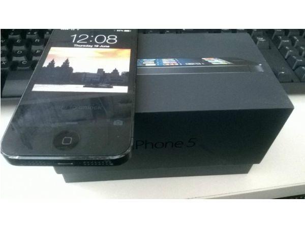 BLACK IPHONE 5 16G