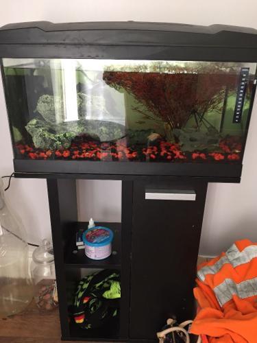 Black marina 54 litre fish tank