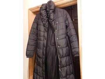 Black Puffer Coat Size 12