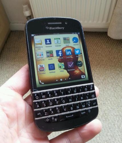 BlackBerry Q10 O2 / Tesco / GiffGaff