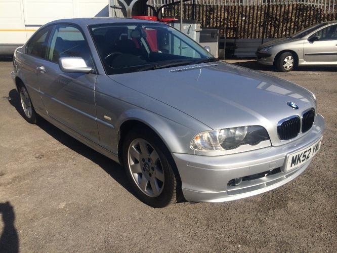 BMW 318 Ci SE, 2.0, 2002/52 Reg, MOT'd 24th Sept 2015,