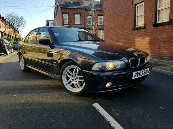 BMW 520i 2.2 Auto Facelift 2003 Green Metallic