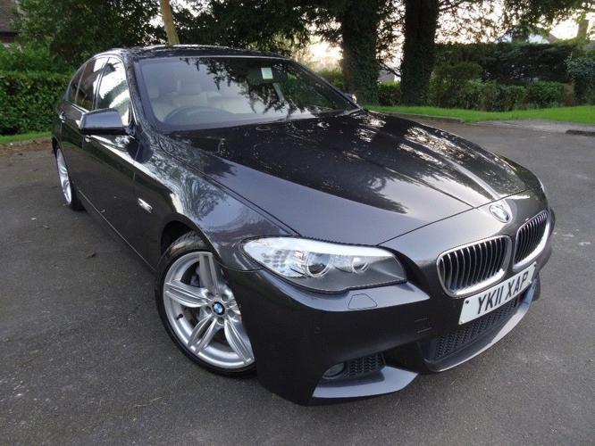 BMW 525d M Sport 4dr Saloon ***SAT NAV***REVERSE