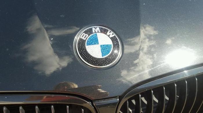 Bmw badges ( swarovski )