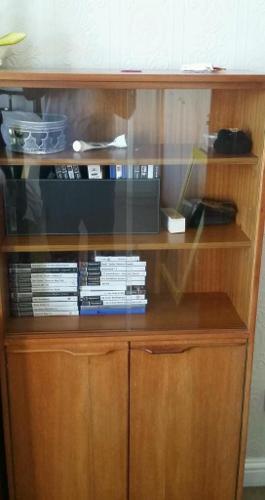 Book shelf/ glass unit