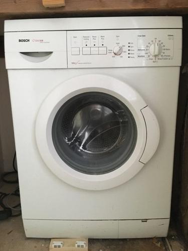 Bosch washing machine & hotpoint tumble dryer