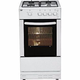 brand new Bush AG56S Single Gas Cooker in black
