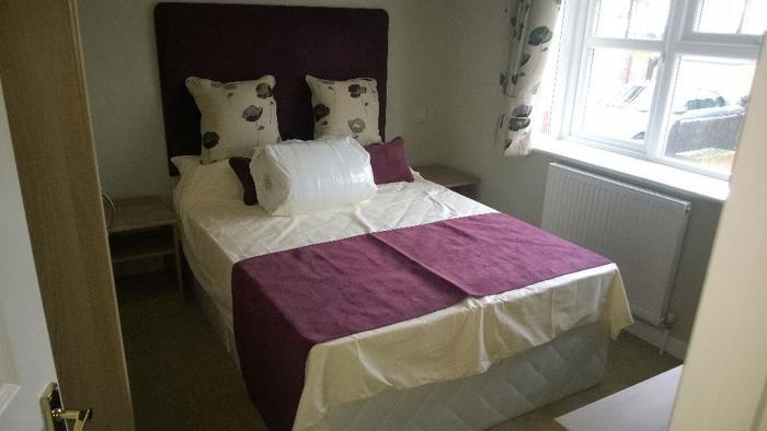 Brand new Double Devan Bed with Headboard