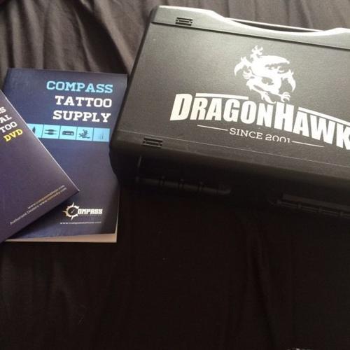 BRAND NEW// DragonHawk beginner tattoo kit.