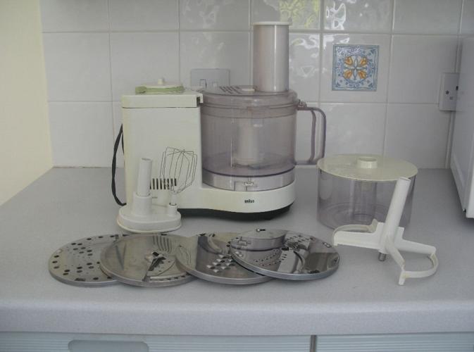 Braun Multipractic Plus food processor
