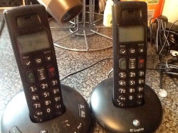 BT graphite phone set
