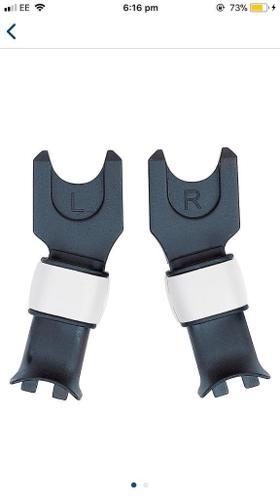 Bugaboo cameleon maxi cosi / cyber car seat adapters