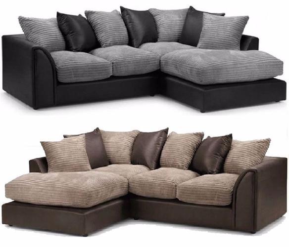Byron corner sofa / 3+2 seater set or corner sofa in
