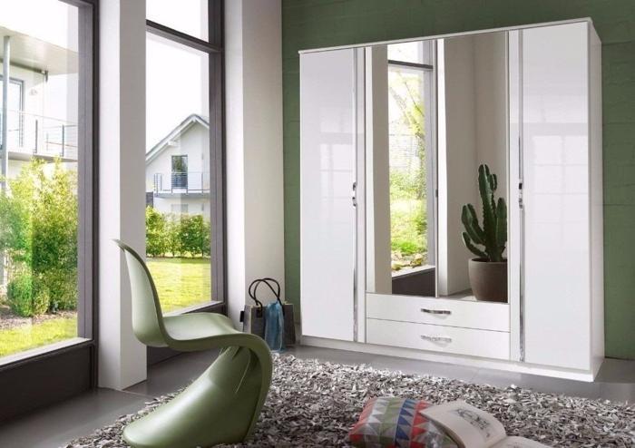 C 3 & 4 DOOR HIGH GLOSS Wardrob