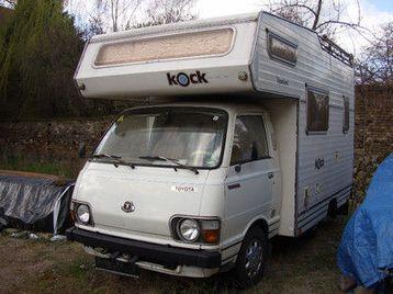 Campervan Toyota Hiace - LHD
