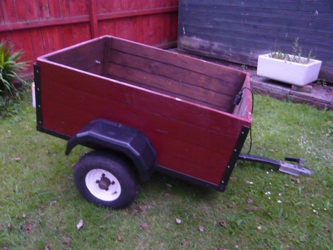 Car box trailer 4 foot x 3 foot