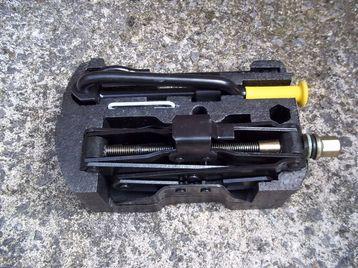 Car Jack wheel nut spanner kit