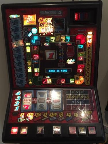 Cash is king bandit arcade game