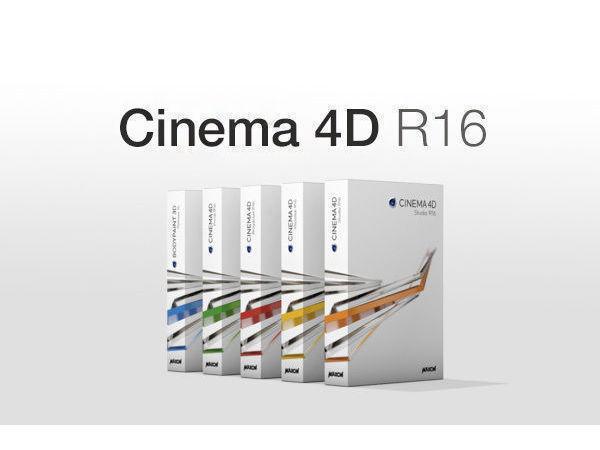 Cinema 4D R16 - LATEST VERSION FOR MAC & PC