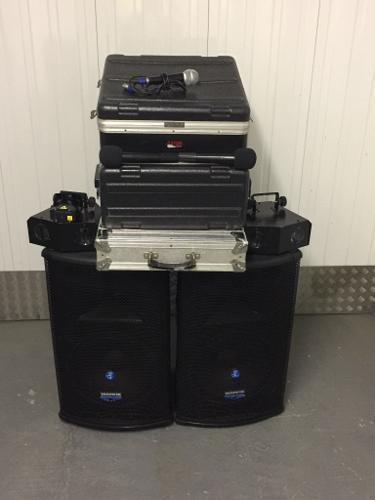 Complete disco setup