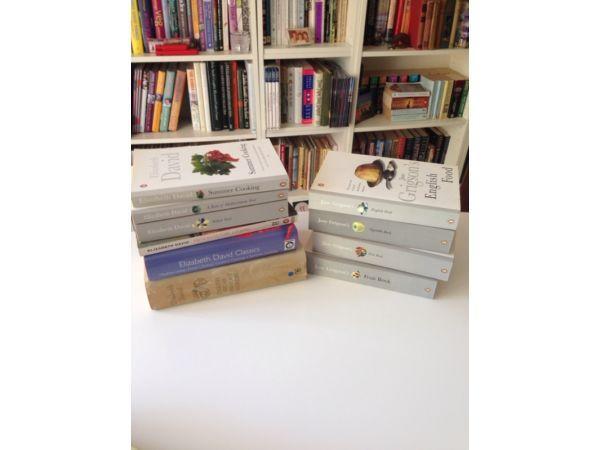 Cookbooks - Elizabeth David + Jane Grigson