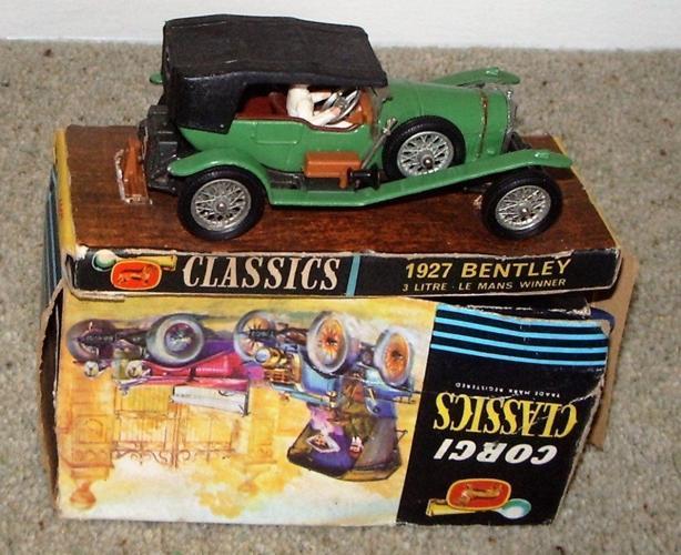 Corgi Classics 1927 Bentley 3 Litre le Manns Winner