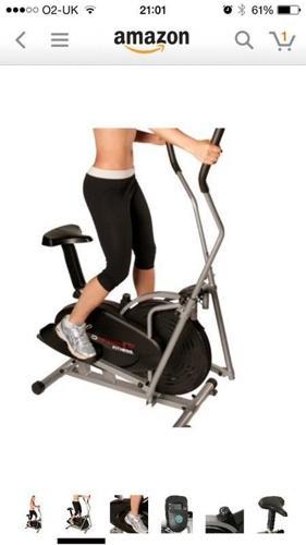Cross trainer / exercise bike.