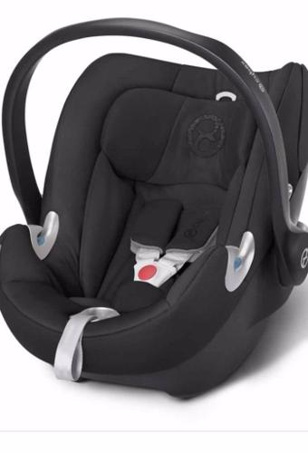 Cybex Aton Q car seat, Group 0, with compatible iso fix