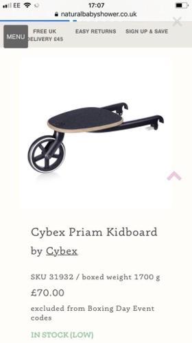 Cybex kidboard