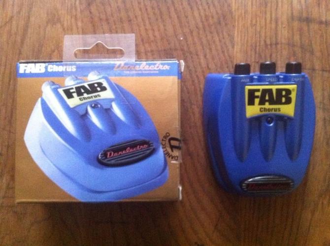 Danelectro FAB chorus guitar effect pedal...poss swap
