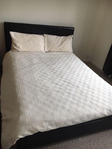 Dark Brown Double Bed