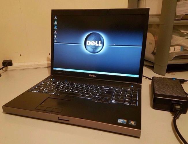 DELL PRECISION M6500, 12GB RAM, INTEL CORE i7 QUADCORE,