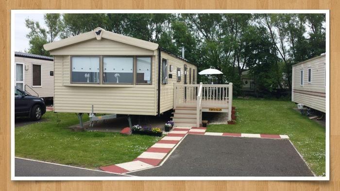 Deluxe Plus 3 bedroom Caravan at Seton Sands with