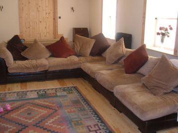 Dfs Hemingway 5 Piece Tetrad Modular Sofa With Pouffe And