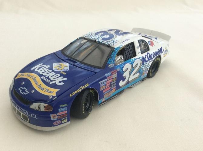 Die Cast 1:24 Scale NASCAR Stock Car Replica, Jeff