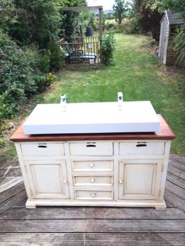 Double sink unit project