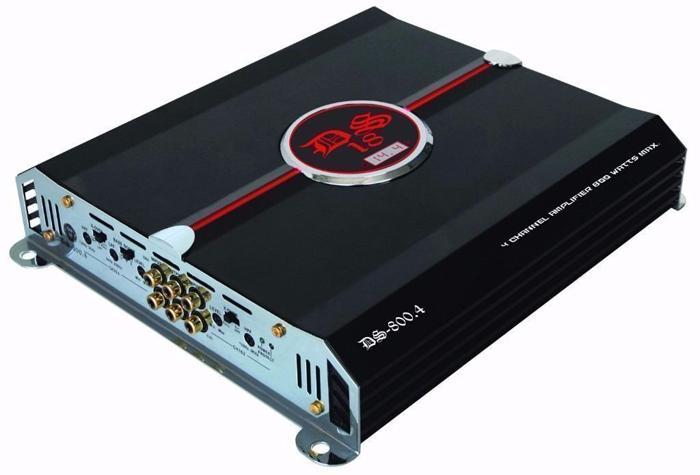 DS18 GEN-800.4 800 Watts Max 4 Channels Multichannel