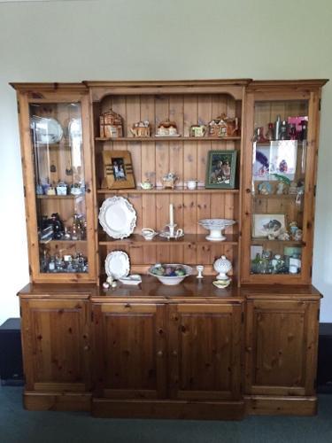 Ducal pine large dresser £100