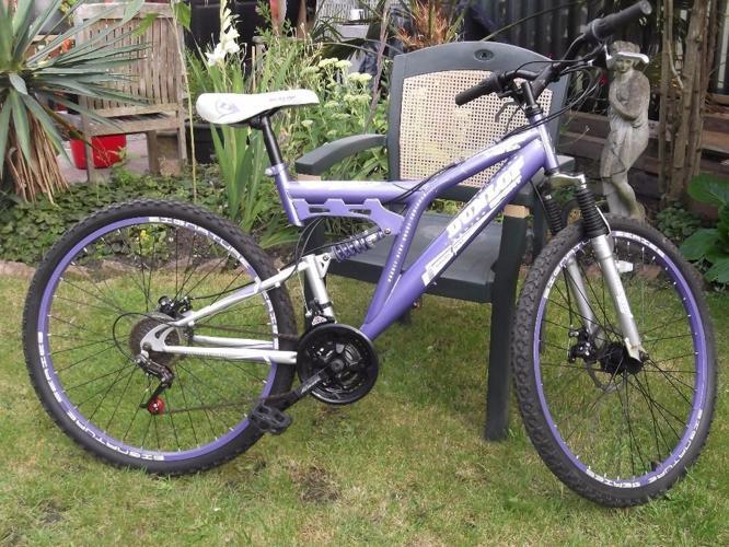'DUNLOP' Mountain Bike - Dual Suspension - 18 Gear -
